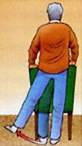 Abduzioni dell'anca da in piedi